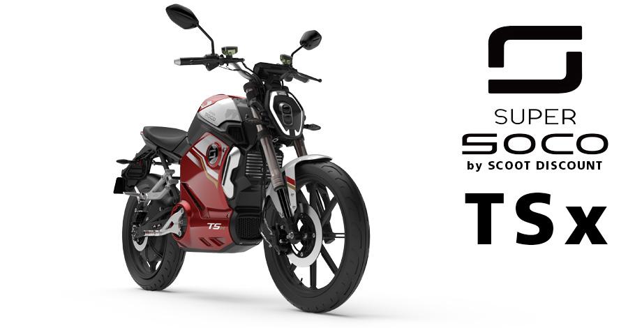 moto Super SOCO TSx