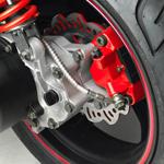 Neco 50 GPX - détail frein à disque compétition arrière