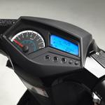 Neco 50 GPX - détail tableau de bord digital