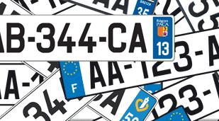 nouvelles plaques d'immatriculation norme SIV