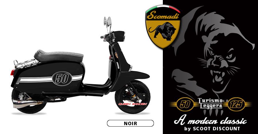 scooter Scomadi Turismo Leggera 50 et 125cc