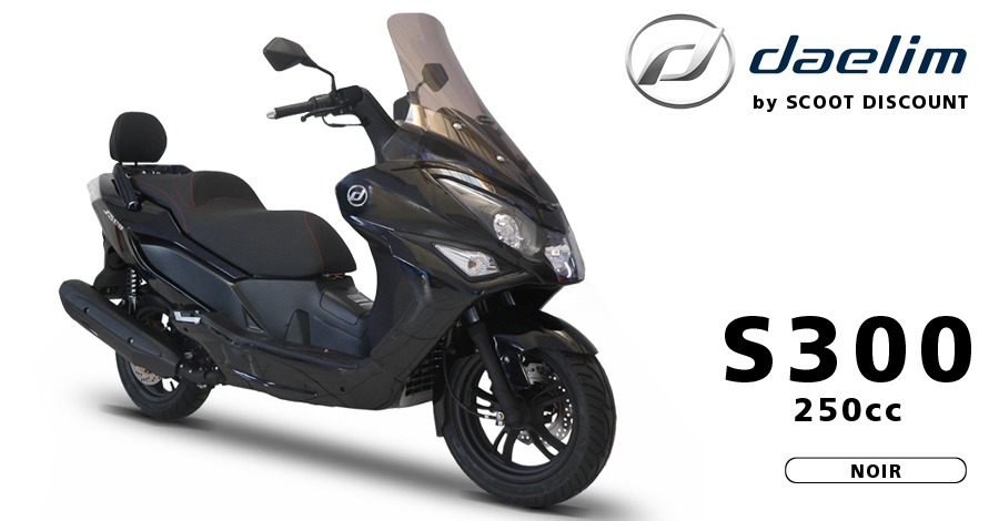 scooter Daelim S300 250cc