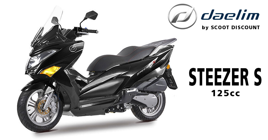 scooter Daelim STEEZER S 125cc