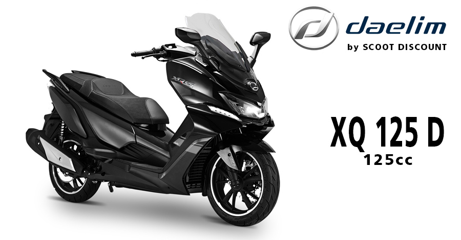 scooter DAELIM XQ 125 D