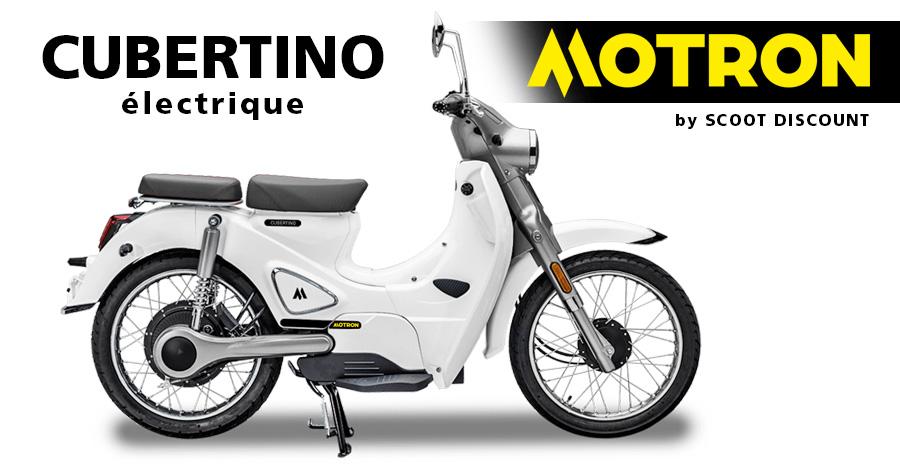 scooter électrique Motron CUBERTINO