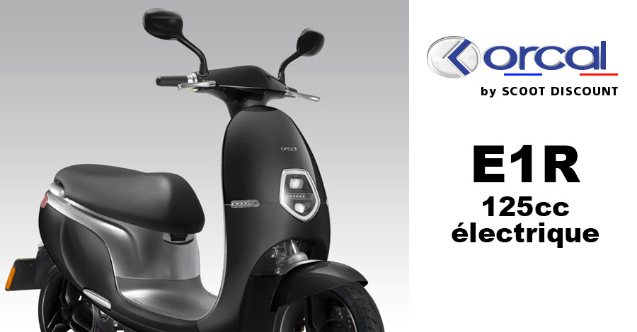Scooter électrique Orcal Ecooter E1 et E1 R