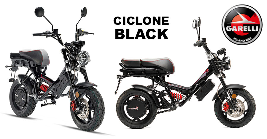 Scooter Garelli Ciclone Black