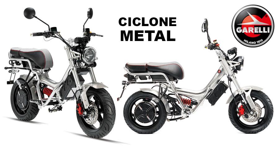 Scooter Garelli Ciclone Métal