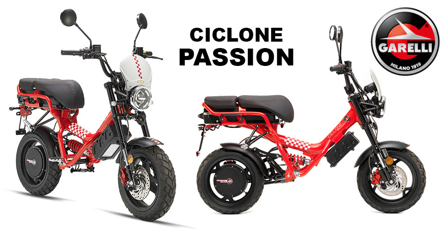 Scooter Garelli Ciclone Passion