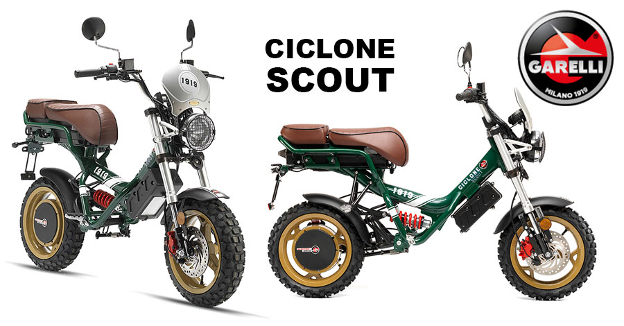 Scooter Garelli Ciclone Scout