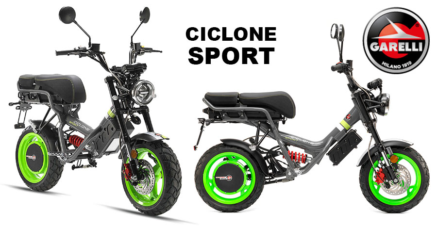 Scooter Garelli Ciclone Sport