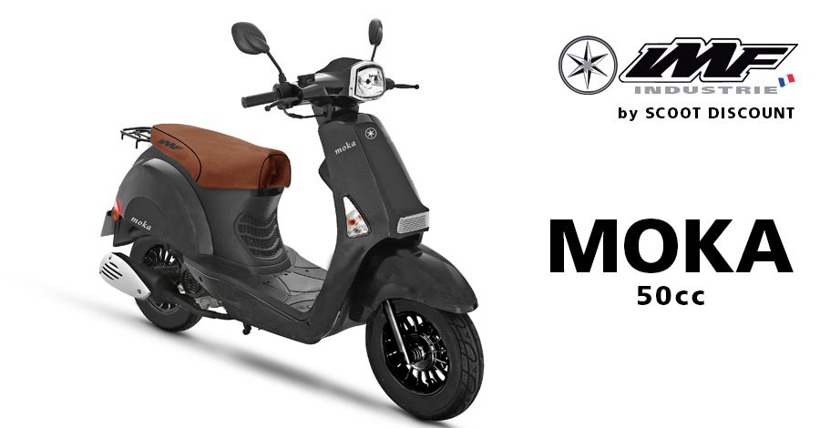 scooter IMF Industrie Moka