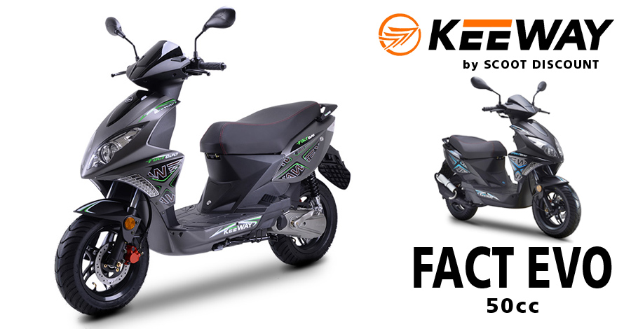 scooter Keeway Fact Evo