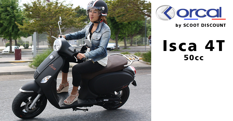 scooter Orcal 50cc Isca 4 temps