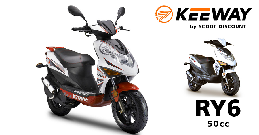 scooter Keeway Ry6