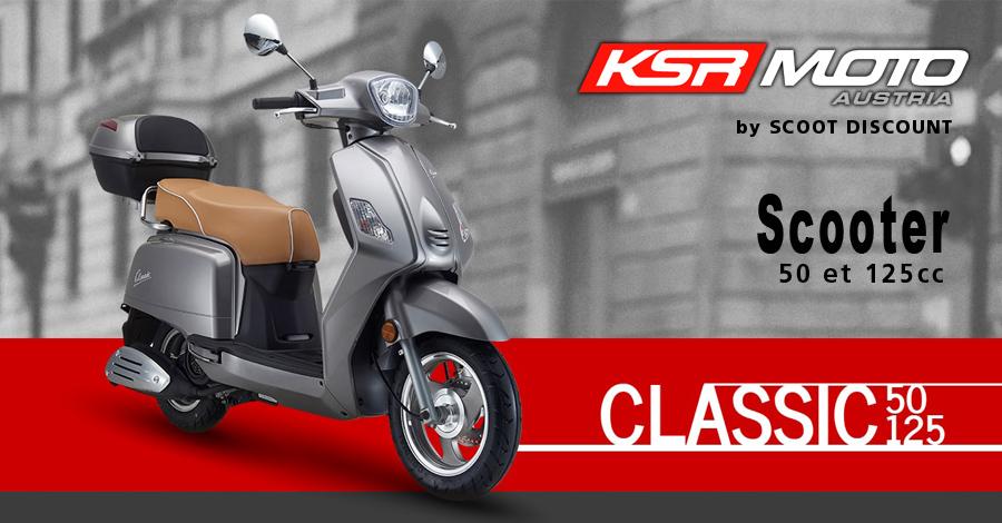 scooter KSR Moto Classic