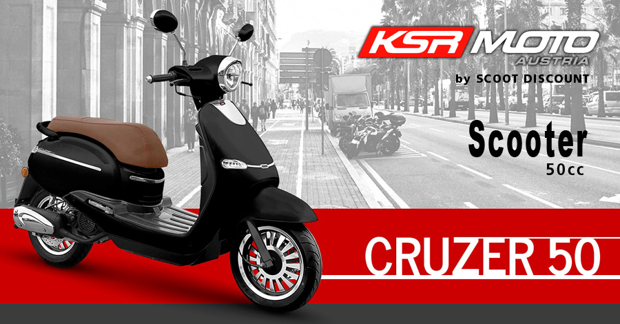 scooter KSR Moto Cruzer 50cc