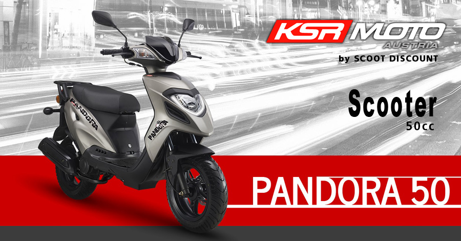 scooter KSR Moto Pandora