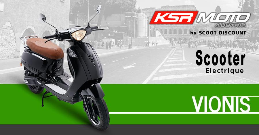 scooter électrique KSR Moto Vionis