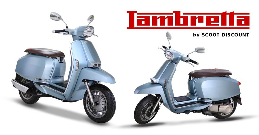 scooter Lambretta V Special 50, 125 et 200 CC