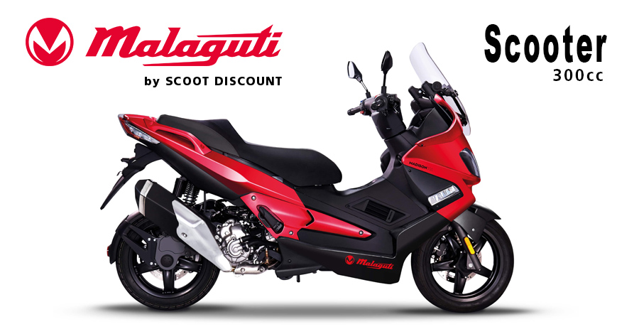 maxi-scooter Malaguti MADISON 300cc