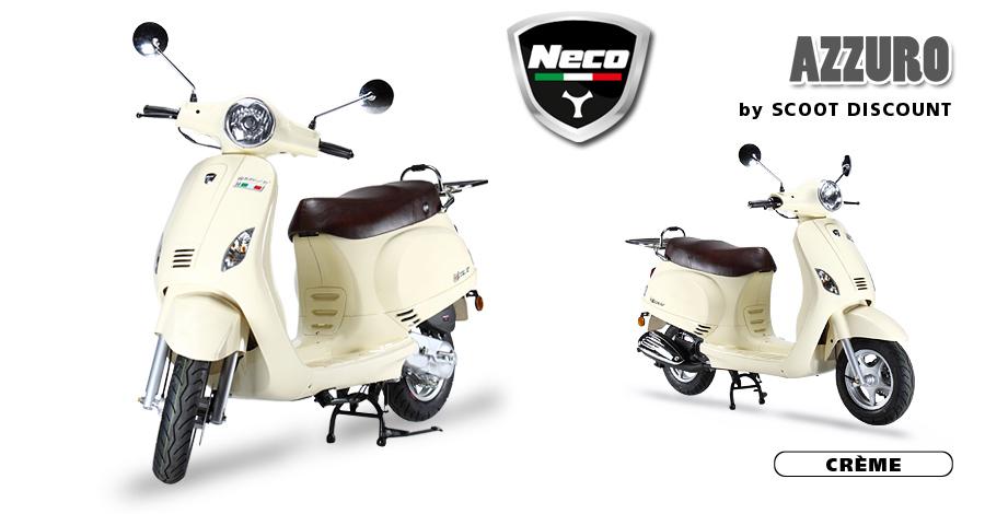 scooter Neco Azzuro crème
