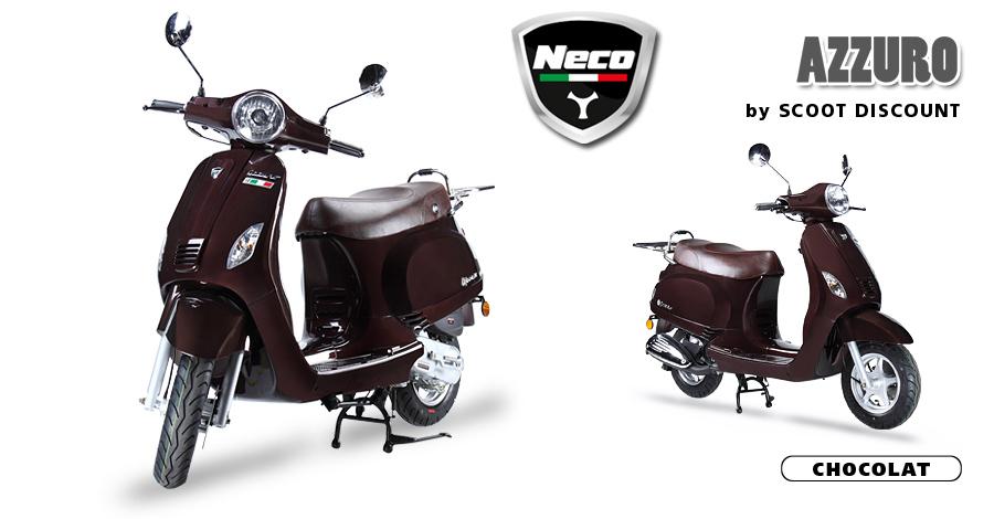 scooter Neco Azzuro chocolat