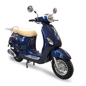 scooter Neco Azzuro GP double selle