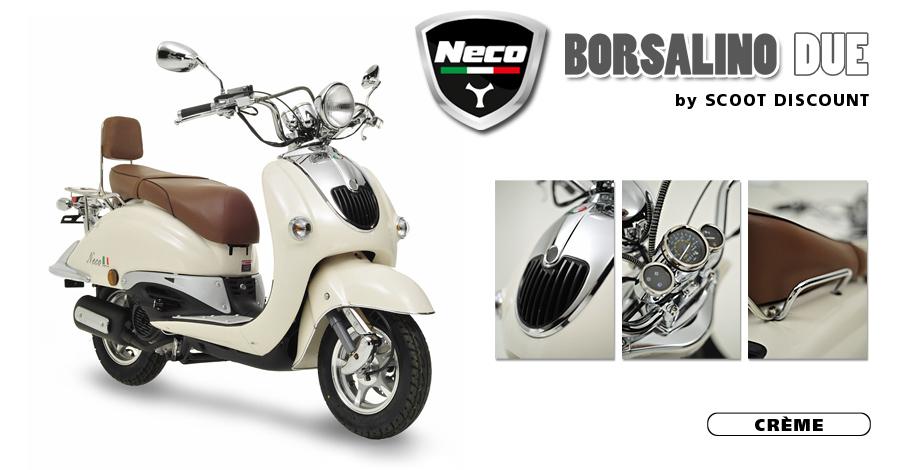 scooter Neco Borsalino Due crème