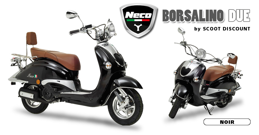 scooter Neco Borsalino Due noir