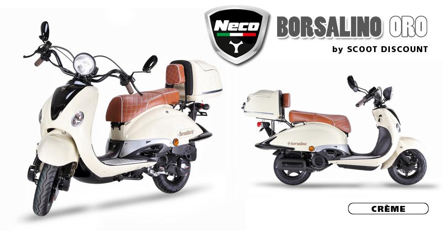 scooter Neco Borsalino Oro crème