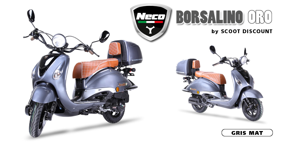scooter Neco Borsalino Oro chocolat