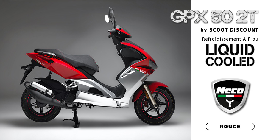 scooter Neco GPX 50 2T rouge