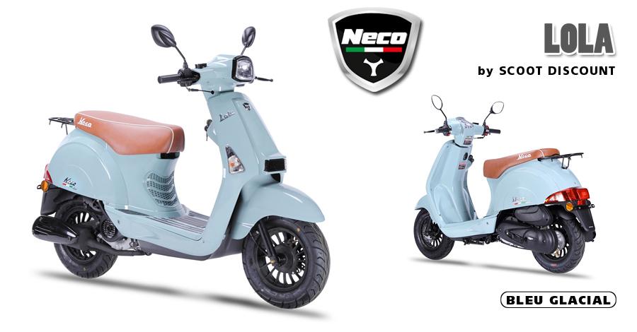 scooter Neco Lola bleu glacial