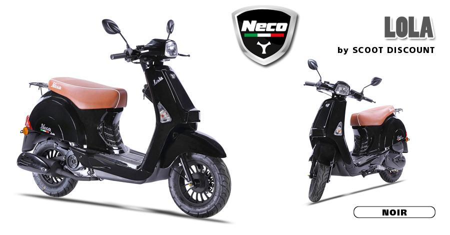 scooter Neco Lola noir
