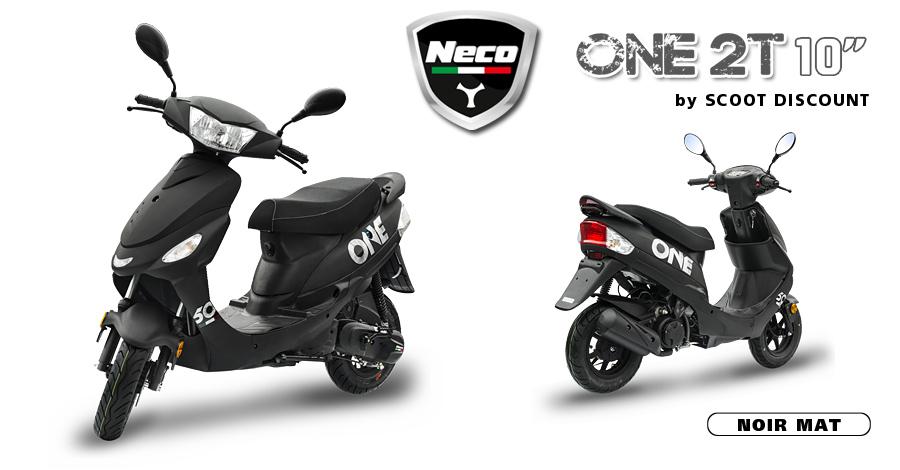 scooter Neco One 2T 10 noir