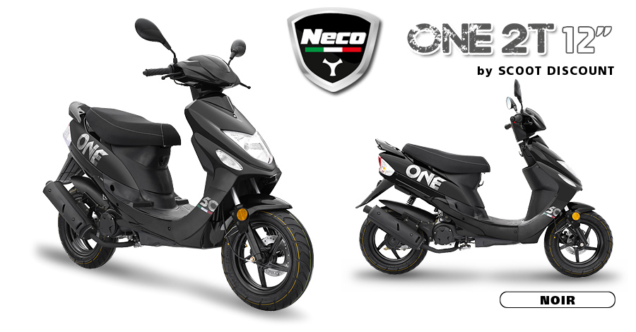 scooter Neco One 2T 12 noir