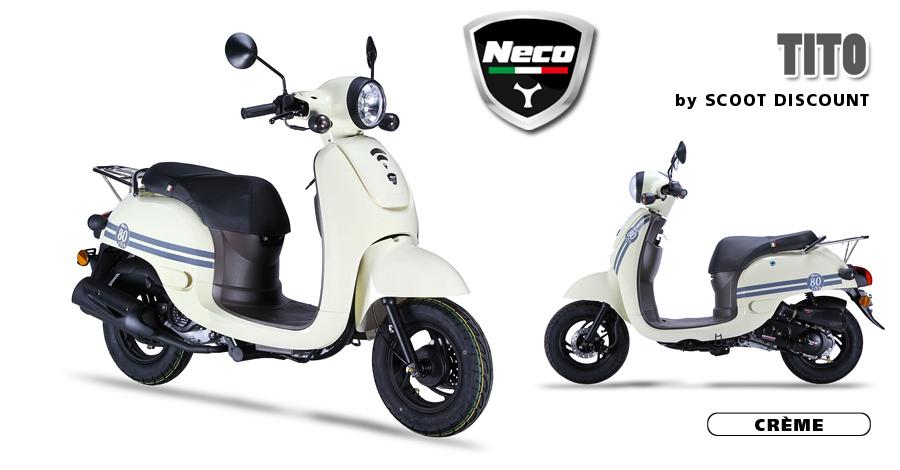 scooter Neco Tito crème