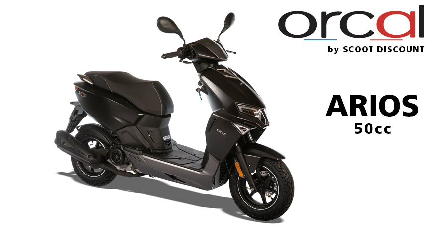 scooter Orcal 50cc Arios 4 temps Euro 5