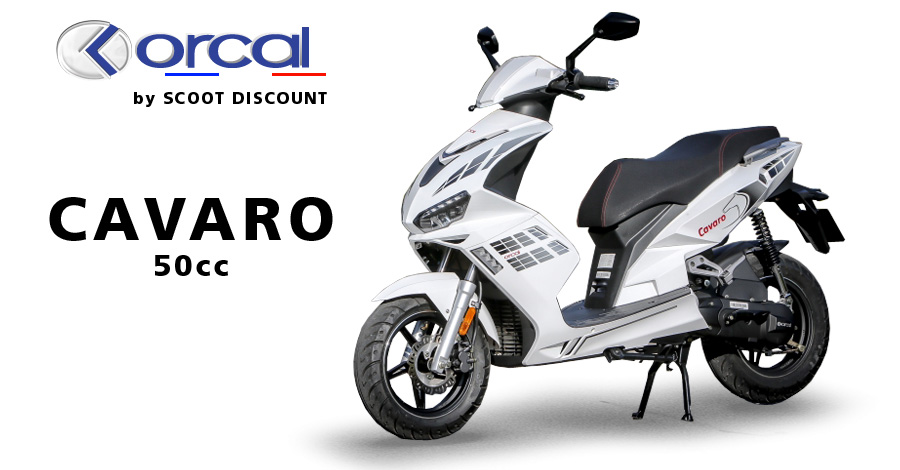 scooter Orcal Cavaro 50cc 4T
