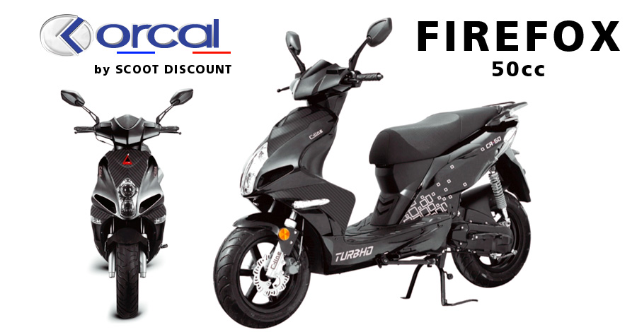 scooter Orcal Firefox 50cc