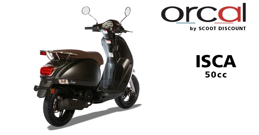 scooter Orcal 50cc Isca 4 temps Euro 5