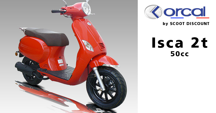 scooter Orcal 50cc Isca 2 temps