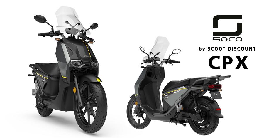 scooter électrique 125 Super SOCO CPX