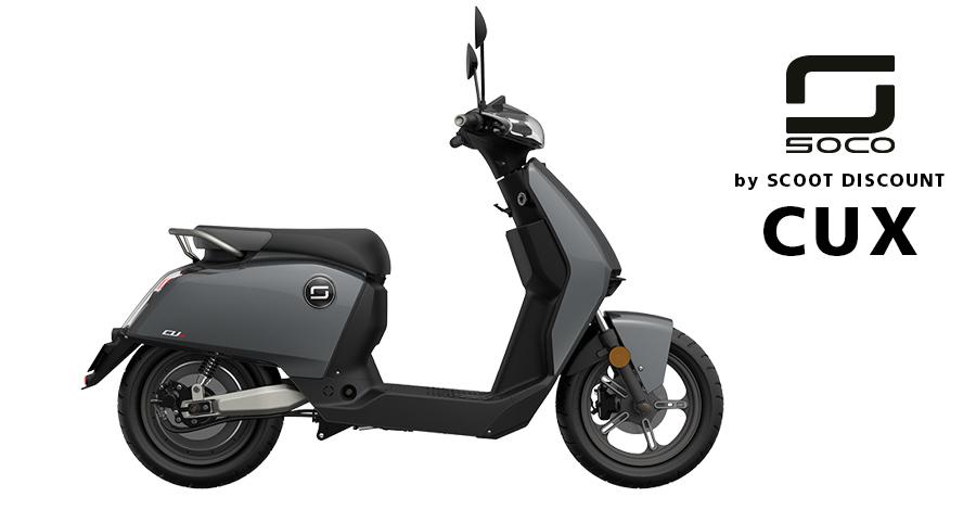 scooter électrique Super SOCO CUX