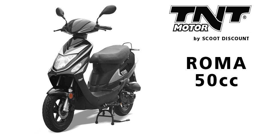 scooter TNT Motor ROMA 50cc