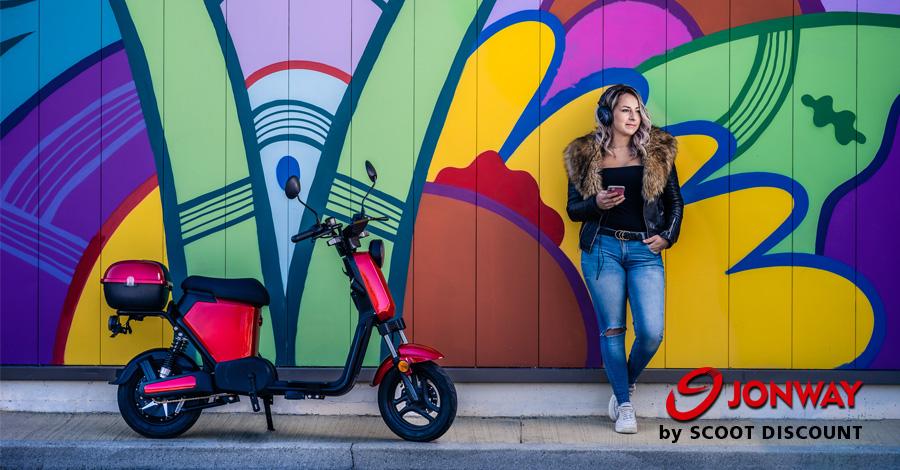 scooters électriques JONWAY