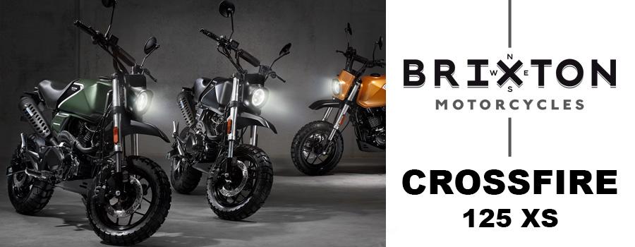 Motos BRIXTON Crossfire 125 XS