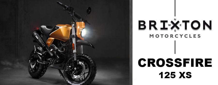 moto Brixton Crossfire 125 XS