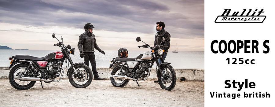 Moto Bullit Motorcycles Cooper S 125